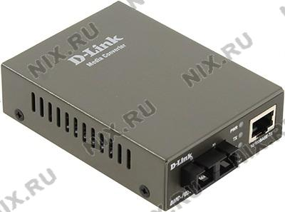 D-Link <DMC-F02SC /A1A> 10/100Base-TX to MM 100Base-FX конвертер (1UTP, 1 SC)