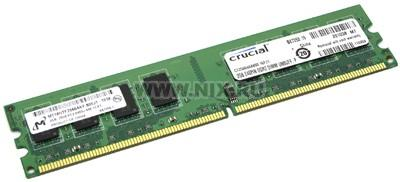 Crucial CT25664AA800 DDR2 DIMM 2Gb PC2-6400 CL6